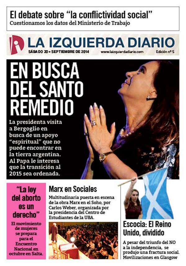 La Izquierda Diario - 19/09/2014
