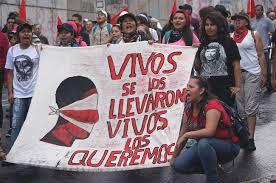 """El régimen mexicano quiere dar el """"carpetazo"""" a Ayotzinapa"""