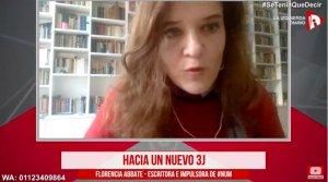 """Florencia Abbate: """"Todavía hay una deuda con las mujeres"""""""