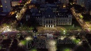 La Plata: un marcha histórica por los derechos de las mujeres y disidencias