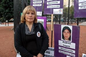 Después de diez años se inicia juicio por desaparición de Andrea López