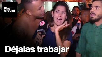 [Video] Periodistas de TV denuncian acoso sexual en el Mundial