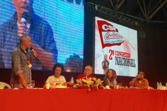 Amidst growing workers' discontent with Dilma and PT, Brazil's Conlutas union holds its second conference