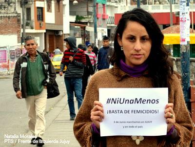 """Natalia Morales: """"Porque decimos Ni una menos, exigimos la legalización del aborto"""""""