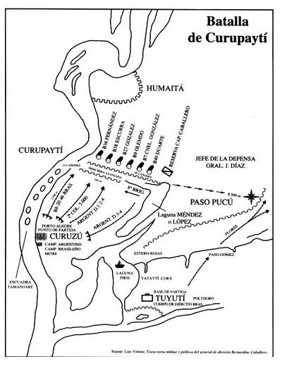 Guerra Guasú - Guerra del Paraguay - Guerra de la Triple Infamia Curupayti_04-5820f
