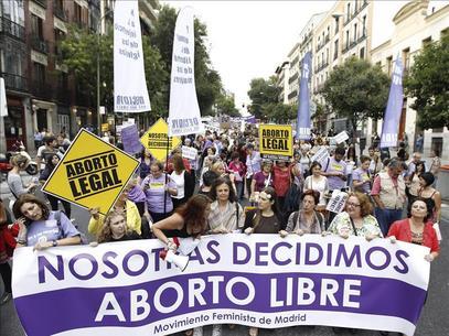 Nueve meses después, la nueva ley del aborto no verá la luz en España