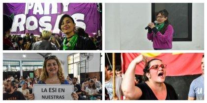 La única lista en Santa Fe a favor del aborto legal y todos los derechos de las mujeres