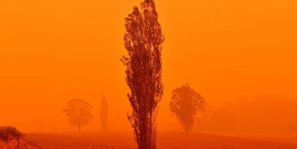 El humo de Australia ya llegó a Argentina