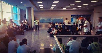 Peligro en aeropuertos ante coronavirus: ¿qué salida proponen los trabajadores?