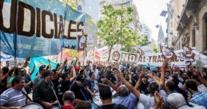 Trabajadores judiciales van al paro y movilización contra la reforma laboral