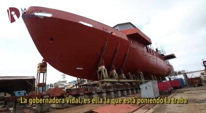 [VIDEO] Los trabajadores del Astillero desmienten campaña de Lanata y Vidal