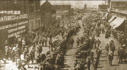 Crónica de la masacre obrera de Santa María de Iquique