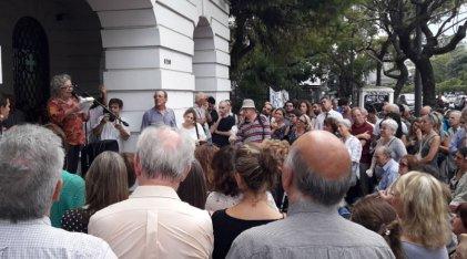 Acto homenaje a trabajadores y estudiantes de la CNEA desaparecidos