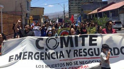 Chile: Marcha en Antofagasta contra los despidos, la persecución, el subcontrato, y el trabajo precario