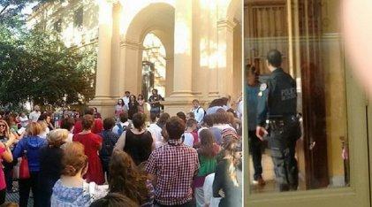 Repudian el acoso policial a estudiantes secundarios de la Ciudad