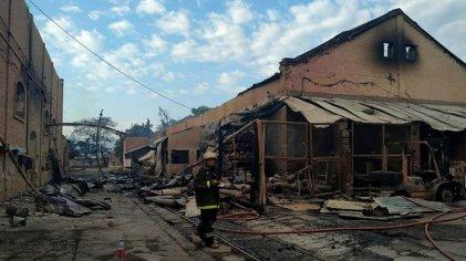 La Esperanza: confirman hallazgo de dos cuerpos y suman ocho obreros fallecidos en el incendio