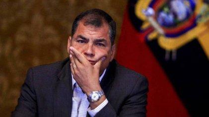 Confirman la condena persecutoria contra Rafael Correa