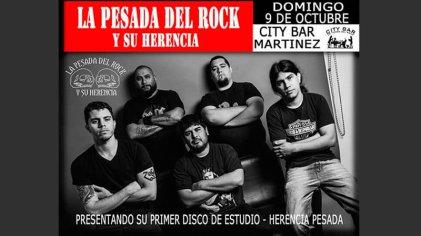 La Pesada del Rock y su herencia, una banda con clase del under y el barrio