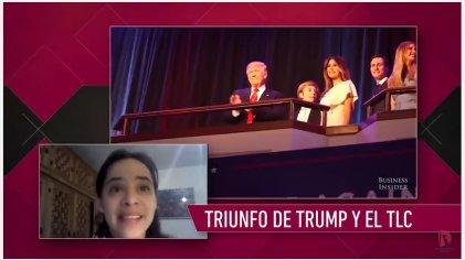 """Jimena Vergara: """"El triunfo de Trump fue un terremoto para la economía mexicana"""""""