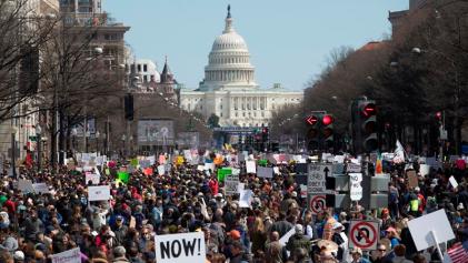 """EE. UU.: """"Marcha por nuestras vidas"""", el movimiento contra la violencia en las escuelas y sus perspectivas"""