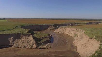 Río Nuevo: desmontes, inundaciones y erosión