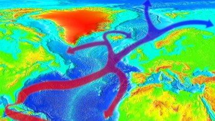 Cambio climático: las corrientes marinas del Atlántico norte disminuyen un 15 %