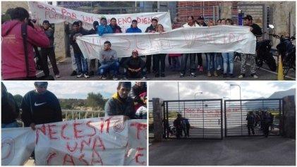 San Luis: continúan los reclamos por viviendas dignas