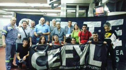 UBA: Seamos parte de la gran campaña de apoyo a los trabajadores del subte