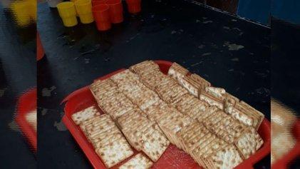 Ajuste en educación: en Ituzaingó llegaron dos paquetes de galletitas para 600 alumnos