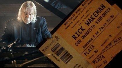 Rick Wakeman en Mendoza