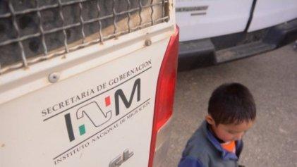 Unicef: México también separa familias migrantes
