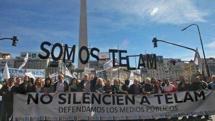 Tras las reincoporaciones, trabajadores de Télam suspenden el paro