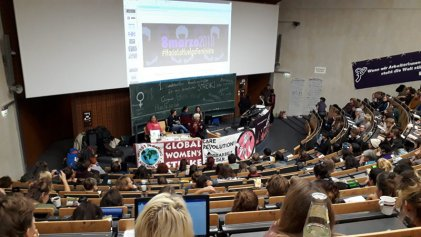 Encuentro estatal de mujeres en Alemania: un gran paso hacia una huelga de mujeres