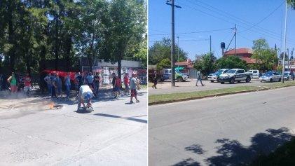 Corte y bloqueo en Cresta Roja por 180 despidos