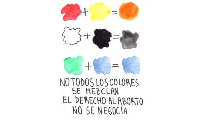 Aborto: no todos los colores se mezclan