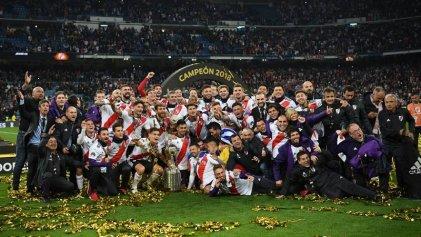Histórico: River campeón de América en superfinal ante Boca en Madrid