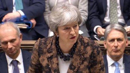 """Crisis del brexit: el débil """"plan B"""" de May"""