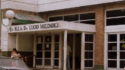 Incendio en el Hospital Lucio Meléndez de Adrogué