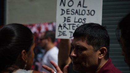 Artesanos San Telmo: jornada contra la represión de Larreta y por el trabajo