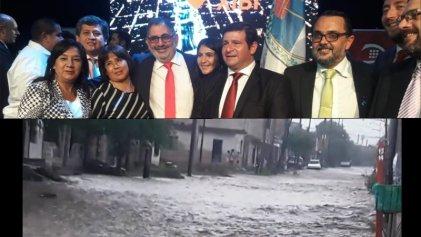 """Jujuy: """"El intendente Jorge habló de otra ciudad, mientras se inundan los barrios populares"""""""