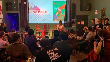 Se presentó la revista Left Voice en New York