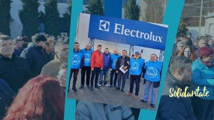 Triunfo de los trabajadores de Electrolux en Rumania