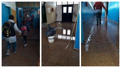 Escuelas y hospitales de San Fernando bajo el agua