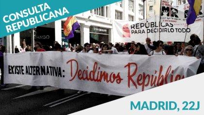 ¿Monarquía o República? Este 22J se realiza una consulta republicana en Madrid