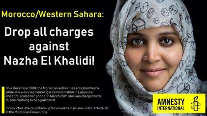 """Marruecos expulsa a periodistas extranjeros para evitar testigos en el """"juicio farsa"""" a una activista saharaui"""