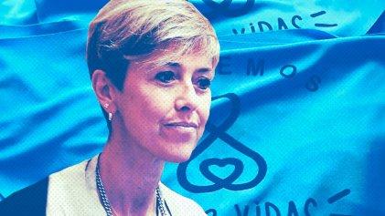 """García Larraburu: otra senadora y candidata """"provida"""" del Frente de Todos"""