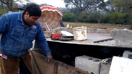 [VIDEO] Testimonio de la familia desalojada en Sargento Cabral