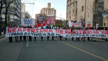 La izquierda y el sindicalismo combativo marcharon contra el ajuste en Córdoba