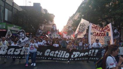 Miles se movilizaron contra el gatillo fácil en Córdoba