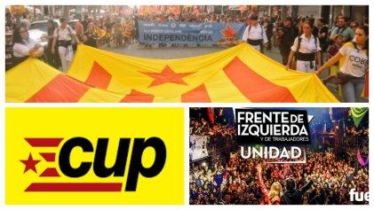 La izquierda independentista catalana apoya al Frente de Izquierda Unidad en Argentina
